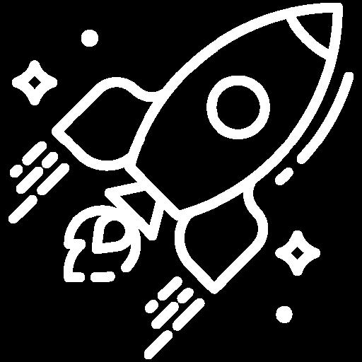 Ícono cohete Rodio Consulting
